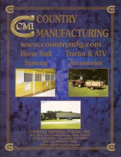 CMI Horse Equipment Catalog